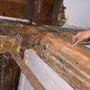 Restauración de vigas y pilares de madera