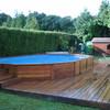Revestimiento de piscina de obra