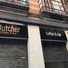 Rotulación exterior Cafetería Butcher