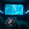 Sala de cine controlada con KNX y CRESTRON