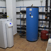 Sala técnica geotermia