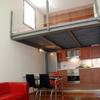 Salón cocina y entreplanta