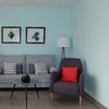 Salón-Comedor azulón