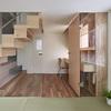 salón con suelo de tatami