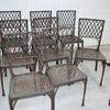 Sillas Pintadas, imitación hierro oxidado