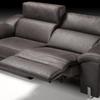 Sofa 3pl relax motorizado y respaldo reclinable