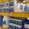 Stock productos químicos.