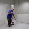 Pintura de piso con resina epoxi