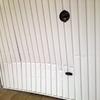 Sustitución de puerta de garaje residencial.