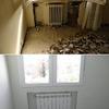 Sustitución de radiadores. Antes y después.