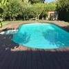 Instalar tarima para exteriores en pequeño jardín de 25 m2 que ahora tiene cesped tepe