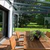 Cierre de terraza con cortina de vidrio