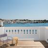 Decoración de terraza con vistas al mar