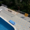 Terraza de la piscina