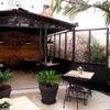 Terraza patio Restaurante El Quiosc de Can Carreras