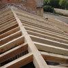 tirantes de techo de madera