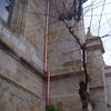 Trabajos verticales en La Basilica de Begoña