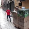 traslado peatonal por las calles de Málaga