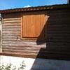 Una de las fachadas antes del mantenimiento