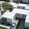 Urbanización de viviendas unifamiliares de una planta.