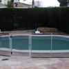 Vallas para piscinas, desmontables