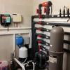 Visión parte instalación depuradora en uso.
