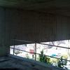 Vista de muro descolgado de forjado.