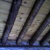 Vista interior de la cubierta sobre la cocina comedor