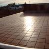 Color gres en terraza