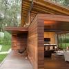fachada vivienda ecológica de madera