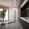 Zona de cocina con terraza