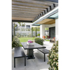 Corregir humedades comedor exterior impermeabilizando techo y  pared externa