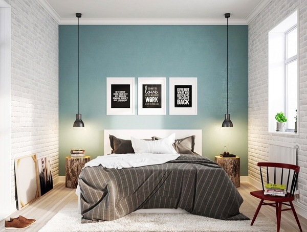 Los mejores colores para un dormitorio perfecto ideas - Ideas papel pintado dormitorio ...