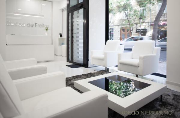 Una cl nica de lujo en el centro de valencia ideas - Decoradores de interiores valencia ...