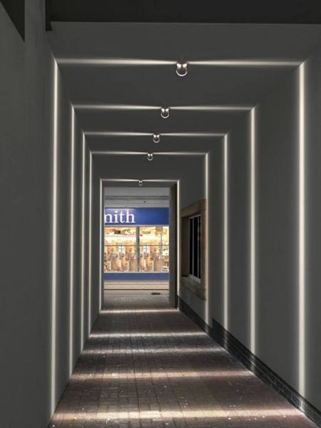Ayuda para acortar visualmente un pasillo habitissimo - Como pintar un pasillo estrecho y sin luz ...