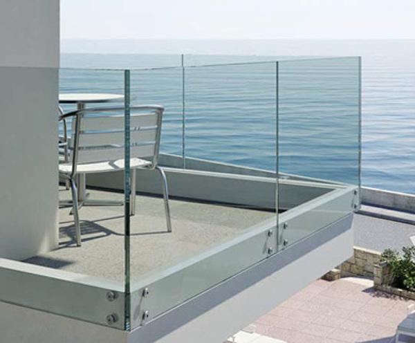 Pod is darme ideas para una barandilla de cristal en la - Barandillas de cristal para terrazas ...