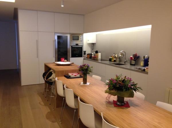 Merece la pena tirar el tabique que separa la cocina del - Salon y cocina integrados ...