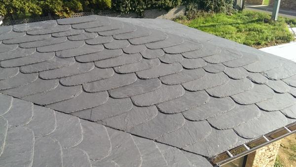 Colocar pizarra o teja en el tejado habitissimo - Materiales para tejados ...