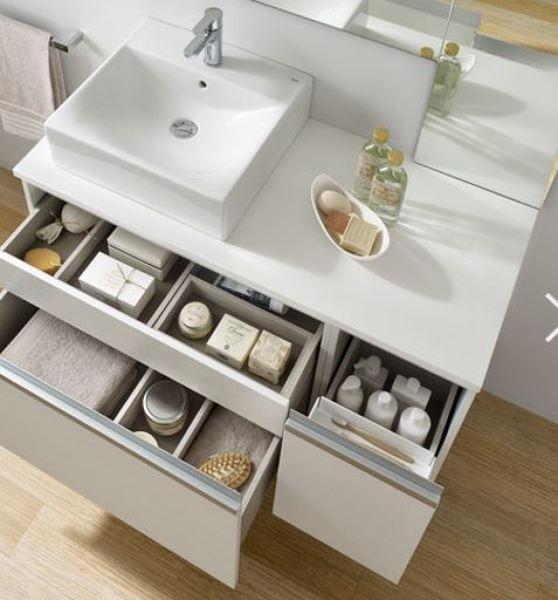 Hay muebles para el lavabo rocca element sobre encimera for Muebles para encimeras