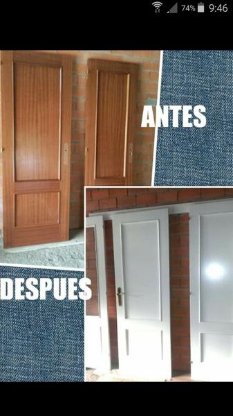 Cu nto cuesta de media pintar 6 puertas habitissimo for Cuanto cuesta poner una puerta interior