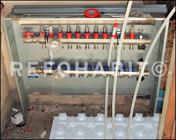 Precio suelo radiante m2 instalado stunning calefaccin - Instalacion de suelo radiante por agua ...