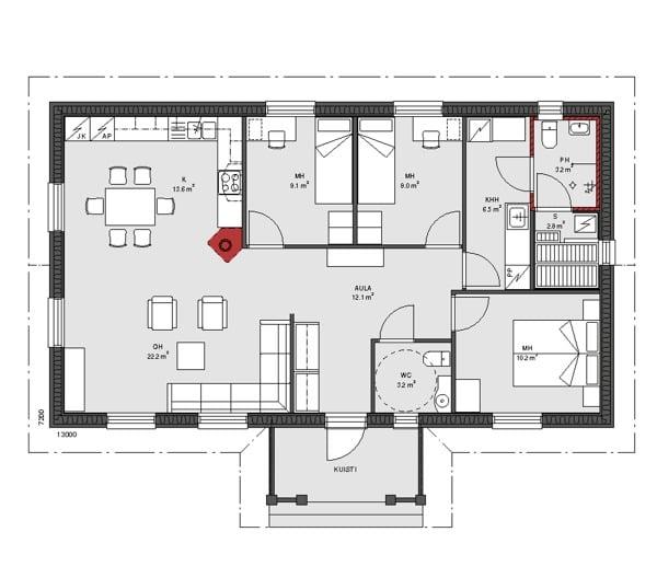 Cu nto cuesta construir una casa de 100m con todos los for Cuanto cuesta pintar un piso de 100 metros