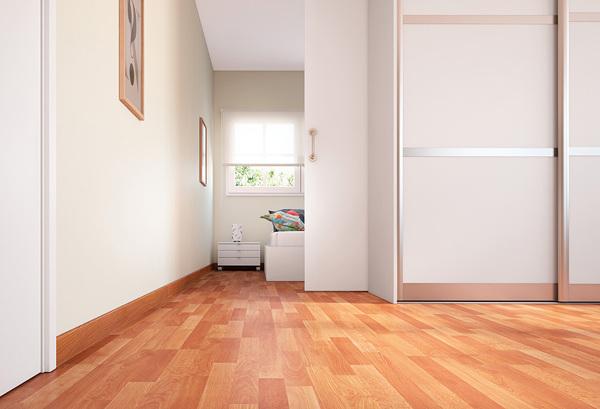 He puesto tarima flotante color cerezo en casa y querr a cambiar las puertas a un tono m s claro - Tarima flotante colores ...