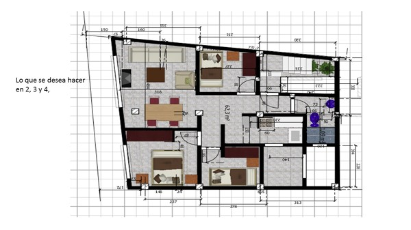 Quiero construir una casa con 5 apartamentos for Quiero construir una casa