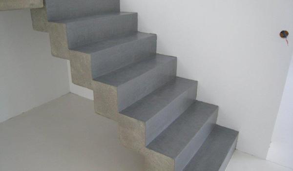 De qu material esy hecha esta escalera habitissimo - Microcemento en mexico ...