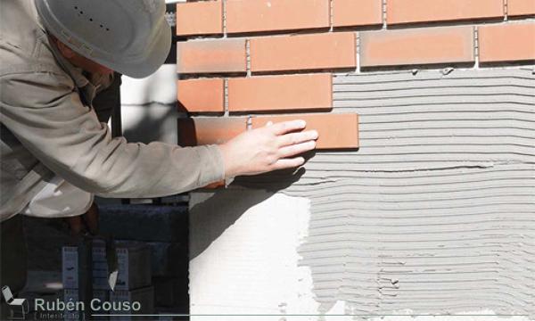 Me encanta el efecto de pared de ladrillo c mo lo han - Ladrillos decorativos para exteriores ...