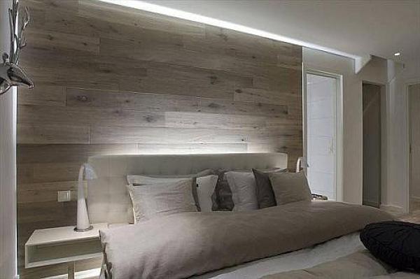 Fotomurales o revestimiento rastrelado para las paredes - Revestimiento de paredes madera ...