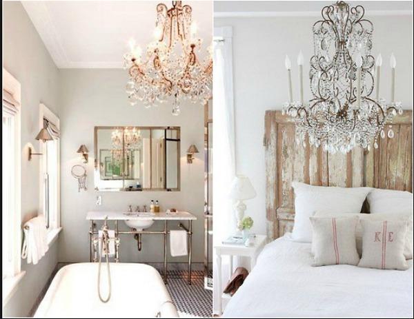 Necesito combinar dos lamparas de techo en el salon - Lamparas para salon comedor ...