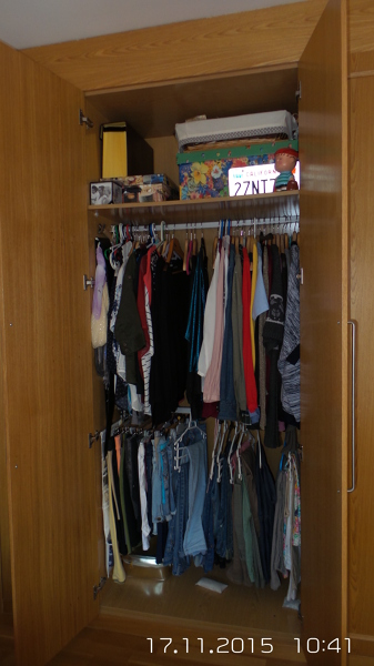 Qu puedo hacer para organizar mejor mis armarios - Organizar armarios empotrados ...