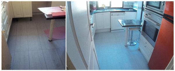 Podr a instalarse este suelo en la cocina sin tener que for Cambiar suelo cocina sin quitar muebles